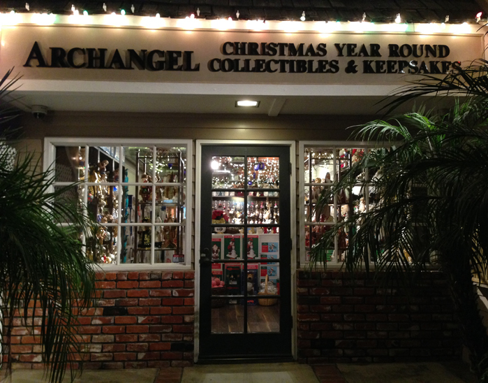 Archangel Christmas Store Front